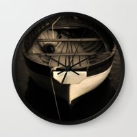 Boat of a Fisherman Wall Clock