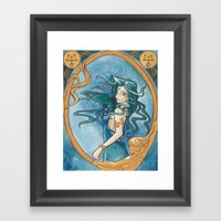 Princess Neptune Framed Art Print