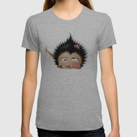 Mr. Zhong Womens Fitted Tee Athletic Grey SMALL
