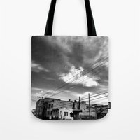 CafeTazo SF Street Photo Tote Bag