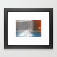 HALF LIFE Framed Art Print