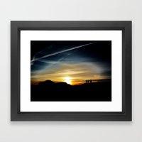 Shared Framed Art Print