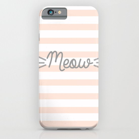 MEOW iPhone & iPod Case