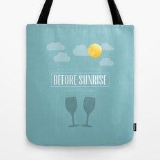 Before Sunrise Tote Bag