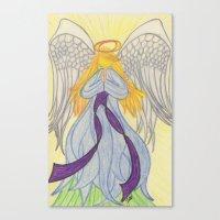 Radiant Angel Canvas Print