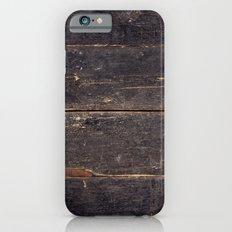 Vintage Black Wood iPhone 6 Slim Case
