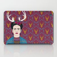 DEER FRIDA iPad Case