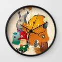 Magic Forest Gang! Wall Clock