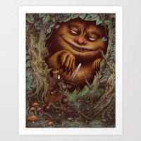 Wilder Things Art Print