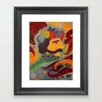 Echo Information Framed Art Print