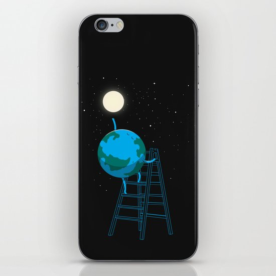 Reach the moon iPhone & iPod Skin
