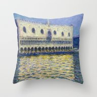 The Palazzo Ducale By Cl… Throw Pillow
