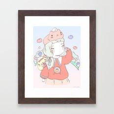 KA PI BA RA Framed Art Print