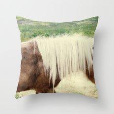 Pony Throw Pillow