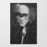 Karl Lagerfeld Star Futurism Limited Canvas Print