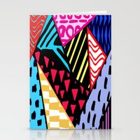 Colour clash. Stationery Cards