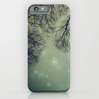 iPhone & iPod Case featuring Alien Invader Trees by monography