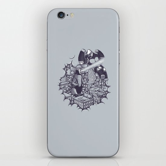 Lucha Kaiju iPhone & iPod Skin
