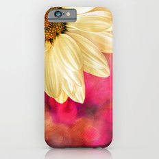 Daisy - Golden on Pink iPhone 6 Slim Case