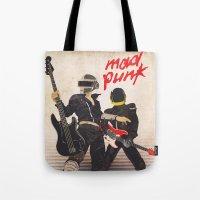Mad Punk / A tribute to Daft Punk Tote Bag