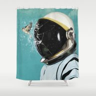 Shower Curtain featuring The Escape by Seamless