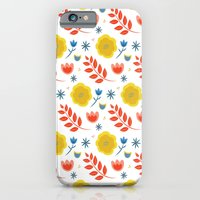 iPhone & iPod Case featuring summertime by Dot Handmade