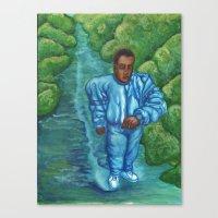 The Walk Canvas Print
