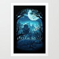 Bedtime Story Art Print