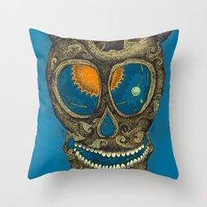 the pendulum Throw Pillow