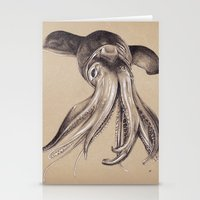 Humboldt Squid #2 Stationery Cards