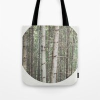 robert frost's birch trees Tote Bag