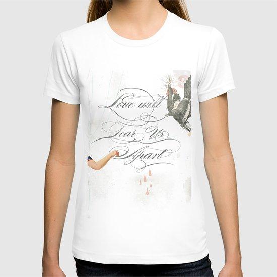 L.W.T.U.A (Love will tear us apart) T-shirt