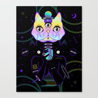 A Cup Of Galaxy! Canvas Print