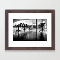 Crowded Framed Art Print