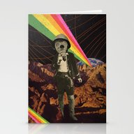 Galactic Cowboy Stationery Cards