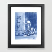 Victor And Nora, Mr. Fre… Framed Art Print