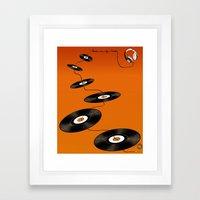 Music In My Mind II Framed Art Print