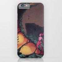 iPhone Cases featuring World Eater by Lenka Simeckova
