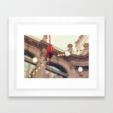 Llums de la Virreina Framed Art Print