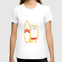 surf T-shirts featuring Surf! by Yetiland