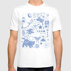 Collecting the Stars SMALL Mens Fitted Tee White