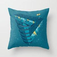 City Night Throw Pillow
