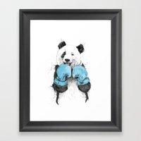 the winner Framed Art Print
