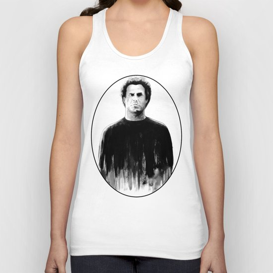 DARK COMEDIANS: Will Ferrell Unisex Tank Top