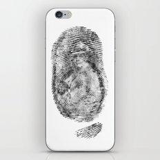 Detective Thumb iPhone & iPod Skin