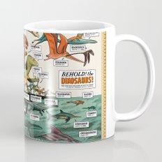 BEHOLD! THE DINOSAURS!  Mug