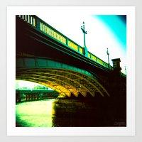 Thames 02 Art Print