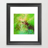 Goddess Of Death Framed Art Print