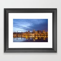 That Portland Skyline Framed Art Print