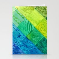 Bali Quilt Stationery Cards